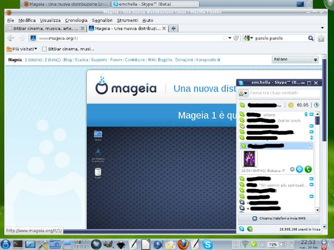 Linux Mageia 1